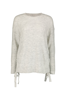 Online Exclusive Grey Side Bow Jumper