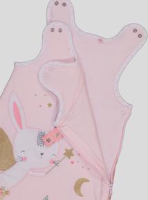 Pink Fairy Bunny Sleep Bag (0-24 months)