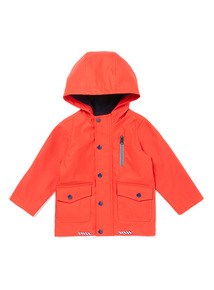 Red Fisherman Jacket (9 months-6 years)