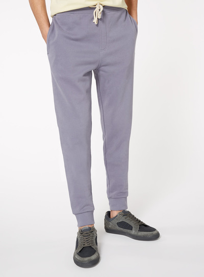 Light Blue Plain Joggers