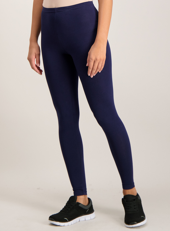 ba29b8e3e Womens 2 Pack Navy Black Leggings With Stretch | Tu clothing