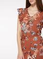 Thumbnail of SKU: FLORAL ASYM HEM DRESS:Multi Coloured