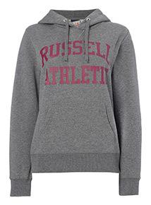 Online Exclusive Russell Athletic Logo Hoodie