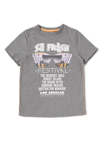 Grey Festival T-Shirt (3-14 years)