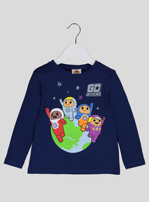 Go Jetters Navy Long Sleeve T-Shirt (9 months-6 years)