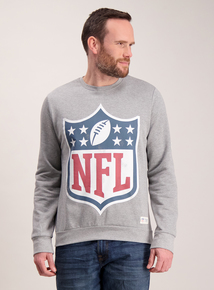 NFL Grey Crew Neck Sweatshirt