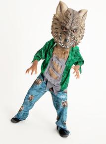 Halloween Werewolf Costume (3-12 years)
