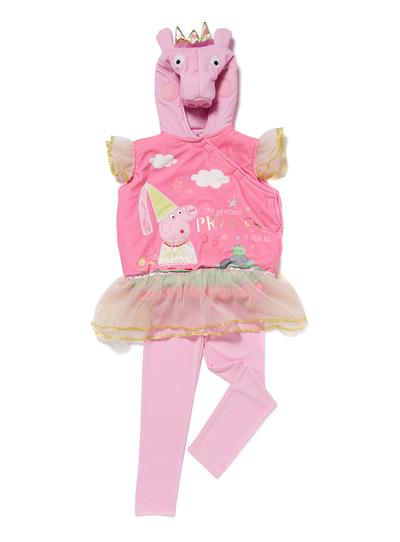 Fancy Dress Kids Multicoloured Dress Up Peppa Pig Costume (1-6 years ...