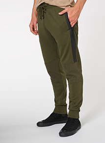 Khaki Ottoman Slim Fit Jogger