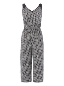 Geometric Pattern Jumpsuit