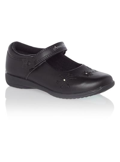 Kids Girls Black Disney Frozen Light Up Shoes  a65dc8bb23a