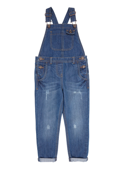 9efe00978e4 Kids Girls Blue Denim Dungarees (3-12 years) | Tu clothing