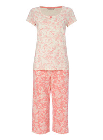 Floral PJ Set