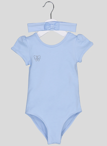 Blue Ballet Leotard & Headband (2-10 years)