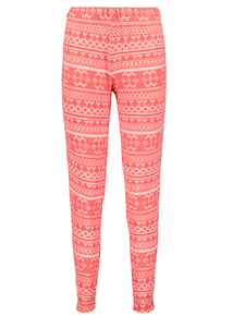 Red Fairisle Christmas Pyjama Bottoms