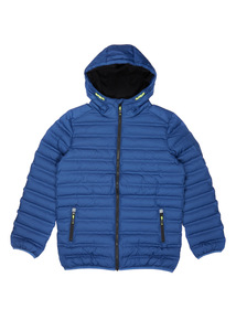 Blue Quilted Jacket (3-14 years)