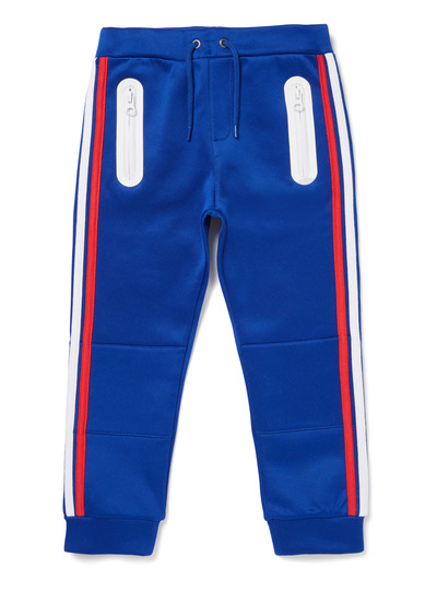 Blue Retro Stripe Joggers (9 months-6 years)