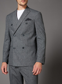 Grey Grindle Double Breasted Jacket
