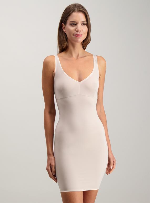 8fef870448e0 Womens Online Exclusive Secret Shaping Nude V-Neck Slip Dress Light Control    Tu clothing