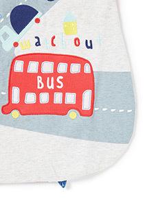 Multicoloured Transport Print Sleeping Bag (0-24 months)