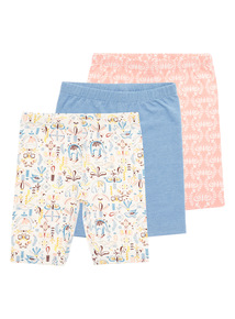 Patterned Shorts 3 Pack (9 months - 6 years)