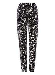 Spot Drapey Trousers