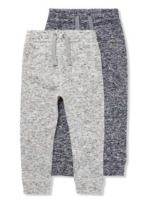 2 Pack Multicoloured Joggers (9 months- 6 years)
