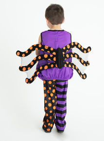 Halloween Scary Spider Costume (0-4 years)