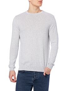 White Crew Jumper