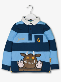 The Gruffalo Blue Rugby Shirt (1-6 years)