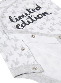 White Limited Edition Bodysuit (Newborn-12 months)