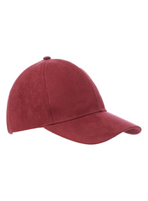Suded Look Baseball Cap