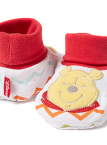 Multicoloured Disney Winnie The Pooh Booties (0-12 months)