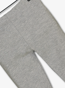 Grey Marl Cotton Rich Leggings (5-14 Years)
