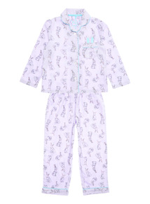 Pink Woven Bunny PJ (1-12 years)