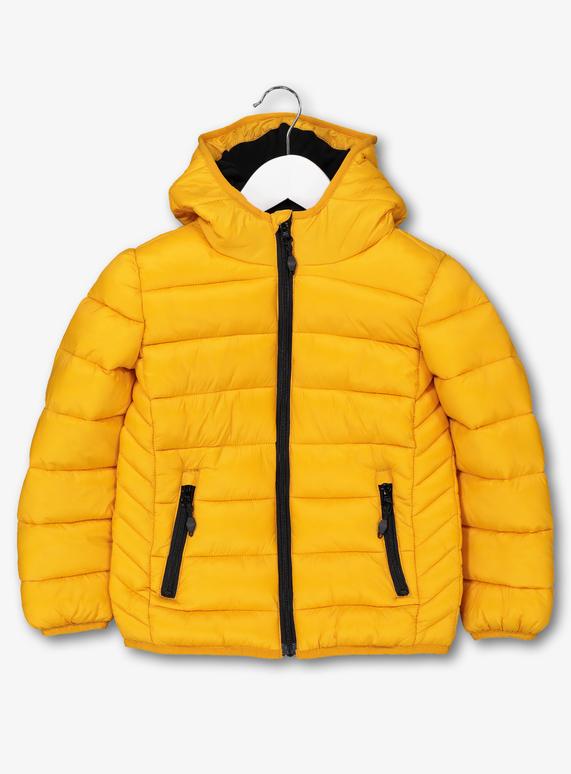 d52d0a9bb5c Kids Mustard Yellow Puffer Coat (3-14 years) | Tu clothing