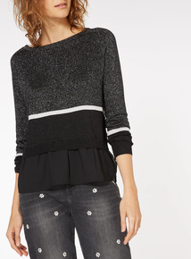 Two in One Colourblock Jumper