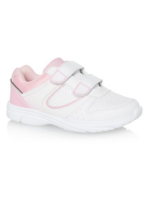 Girls White Trainers
