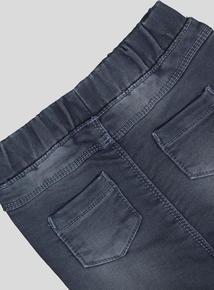 Grey Turn Up Jeans (0-24 months)