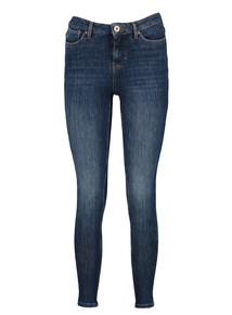 Mid Denim 4-Way Stretch Skinny Jeans