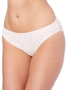 Light Pink Embroidered Briefs 5 Pack