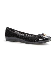 Croc Ballerina Shoes