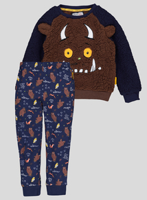 Gruffalo Navy 3 Piece Pyjama Set (1-6 years)