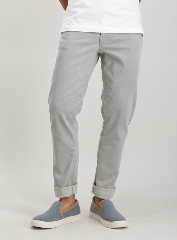 00bb51b59ef Menswear Online Exclusive Grey Skinny Fit Jeans With Stretch