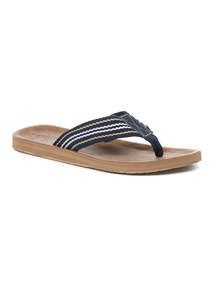 Stone Webbed Toe Post Sandals