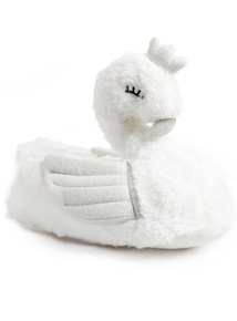 White Swan Princess Slippers
