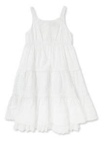 White Maxi Dress (3-14 years)
