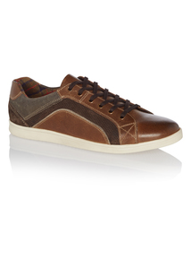 Brown Casual Leather Shoes