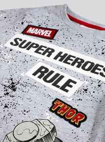 Marvel Avengers Grey T-Shirt (3-14 years)