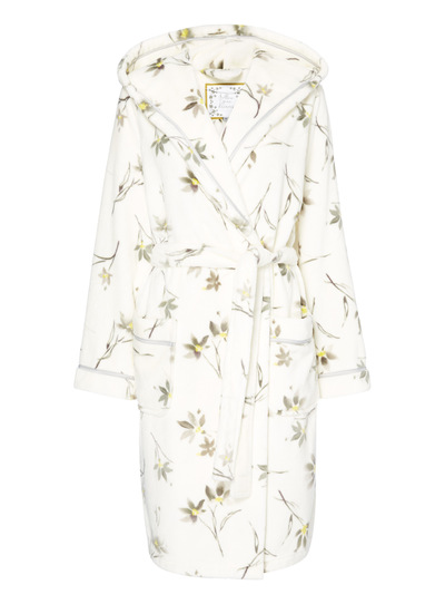 Botanical Print Dressing Gown